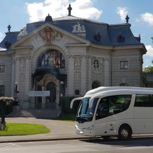 Scania Irizar PB autóbusz közvetítése